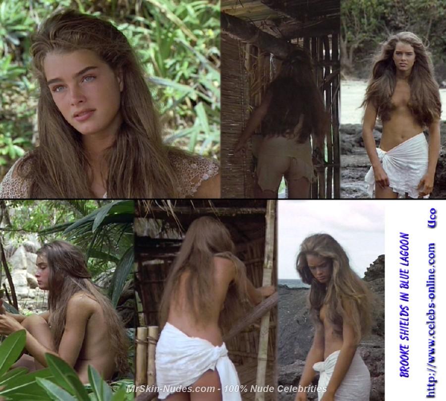 teen age brooke shields nude
